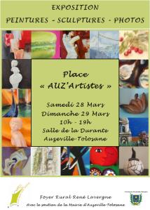 Affiche Auz'artistes